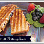 Turkey and Blueberry Panini