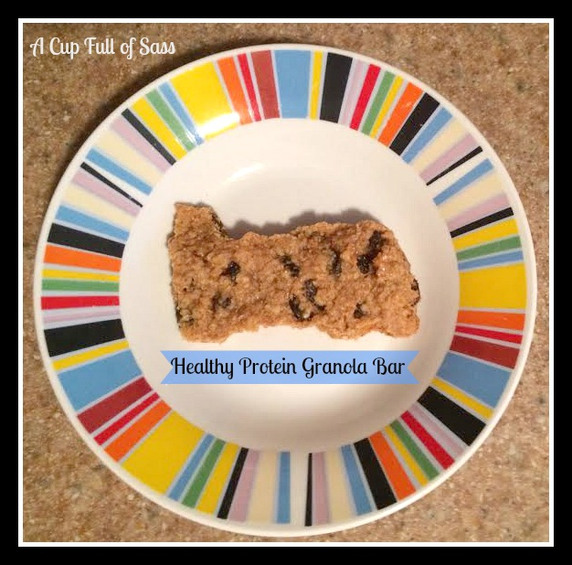 granola bar on plate 2 edit