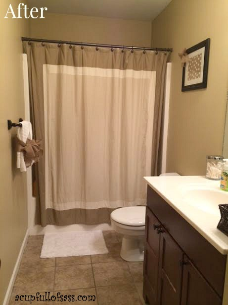 Guest Bathroom Makeover Part 2