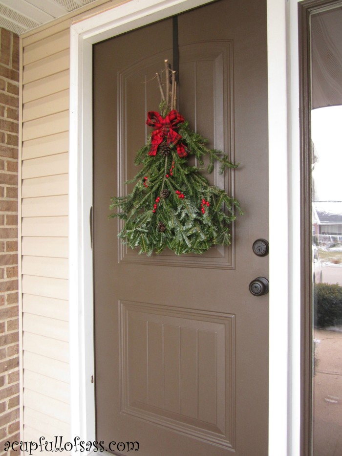 Christmas Door Swag A Cup Full Of Sass