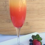 Sunset Mimosa brunch drink recipe