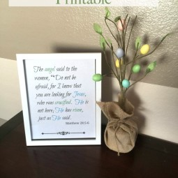 Easter Bible Verse Printable
