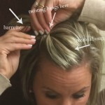 twisting bangs instructions