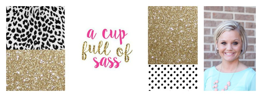 a cup full of sass glitter Collage