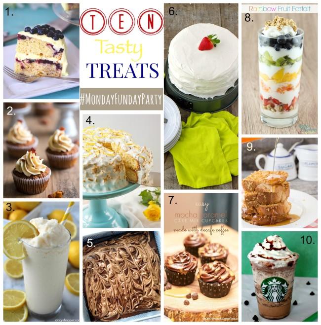 ten tasty treats collage