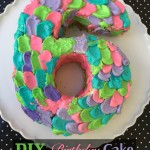 diy birthday cake