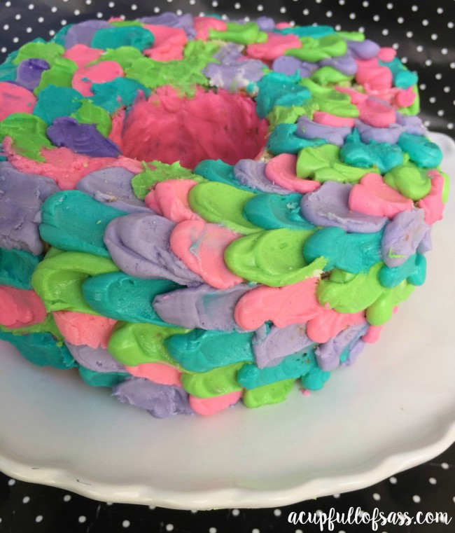 DIY Birthday Cake A Cup Full of Sass