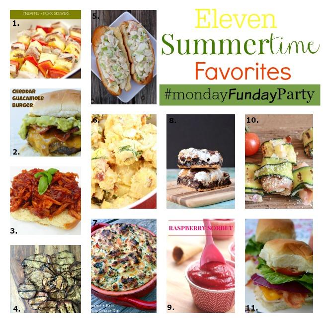summertime favoritesCollage