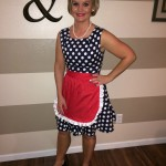 50's housewife DIY Halloween costume