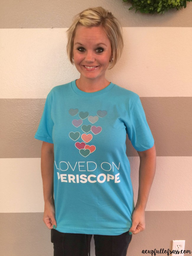 loved on Periscope