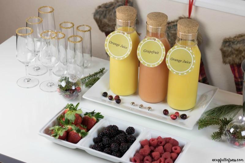 Mimosa Bar Diy A Cup Full Of Sass