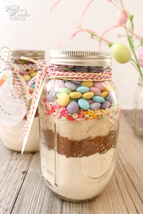 30 easter craft projects and recipes a cup full of sass mason jar cookies negle Choice Image
