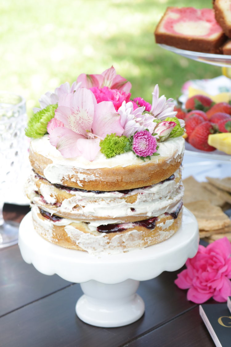 Mini Naked Cake Recipe