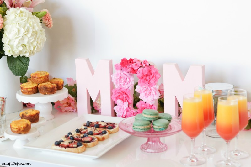 Mother's Day Brunch with Free Printable