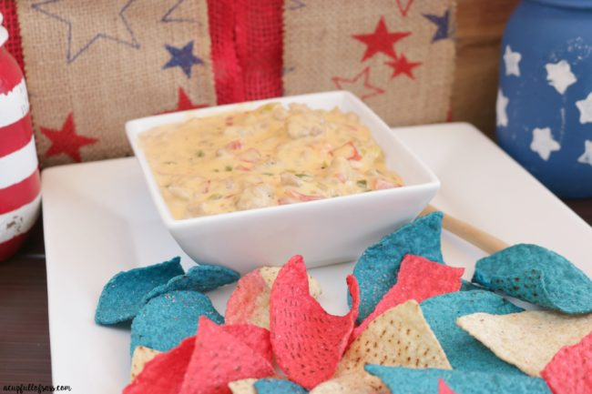 Spicy Mexican Cheese Dip