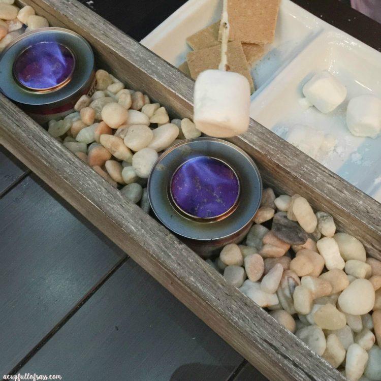DIY Su0027mores Tabletop Roasting Station