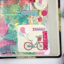 Bible Journaling Tutorial with Free Printable