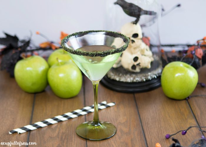 Poisoned Apple Cocktail Halloween Drink