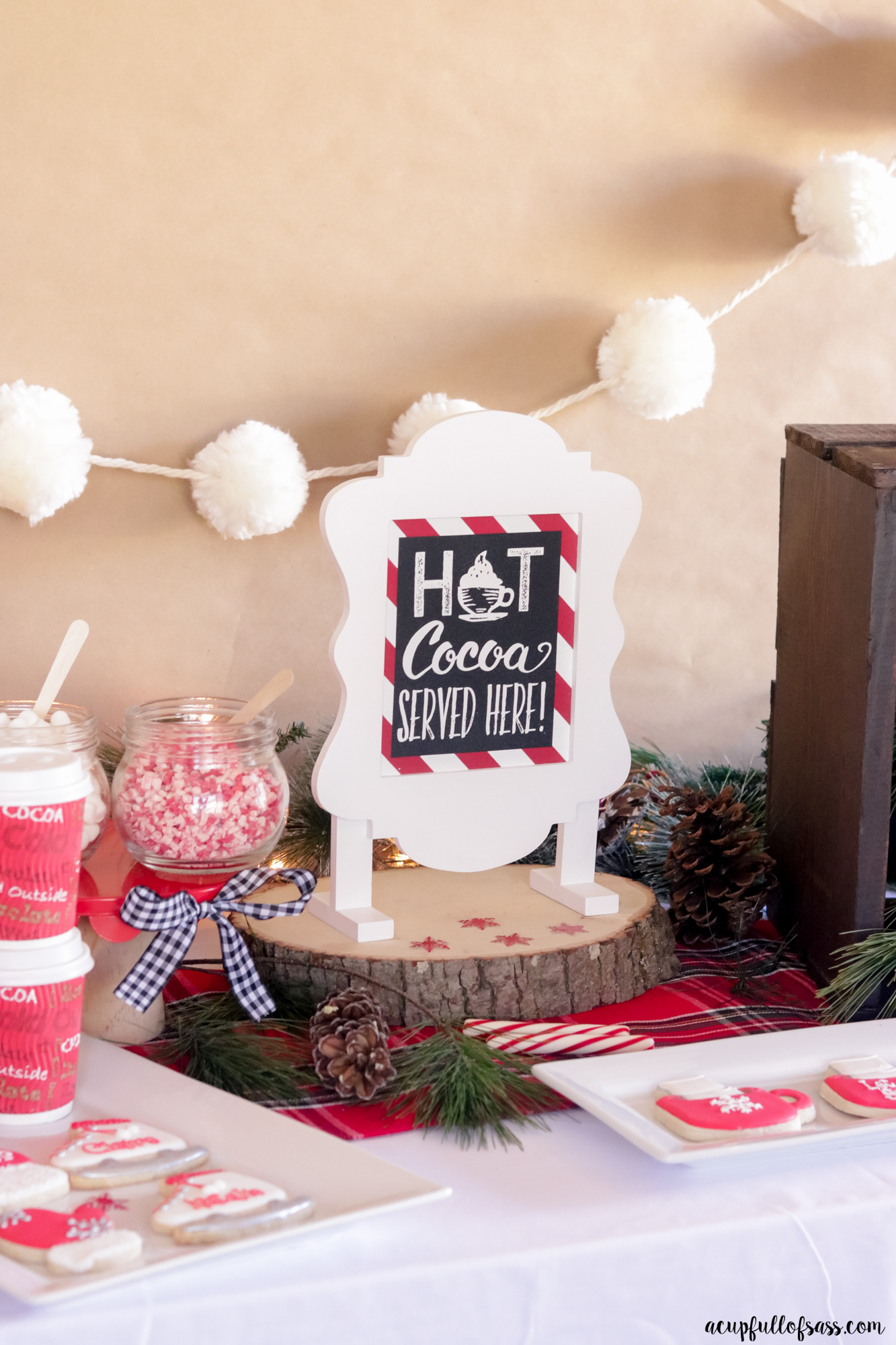 Hot to create a Hot Cocoa Bar