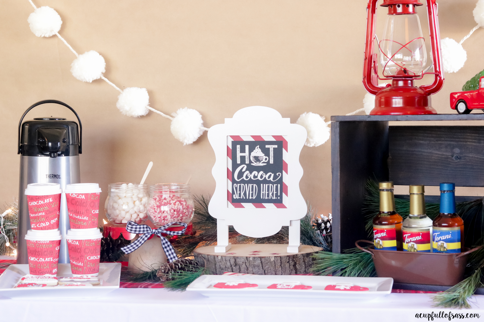 How to create a Hot Cocoa Bar
