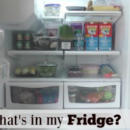 What's in my Fridge and Foods I Eat
