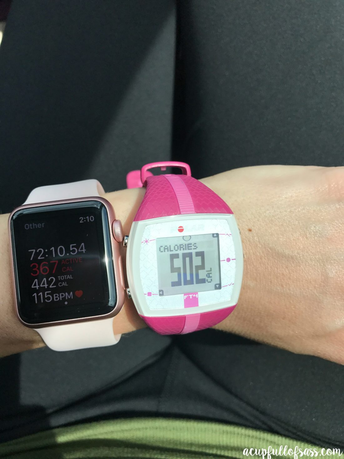 Apple Watch vs Polar Watch FT4