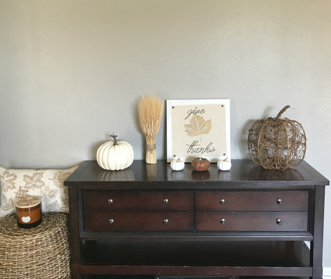 Fall Home Decor Tour - A Cup Full of Sass