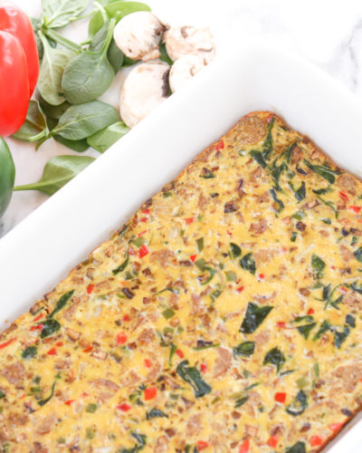 Low Carb Egg Casserole