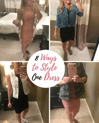 8 Ways to Style One Dress
