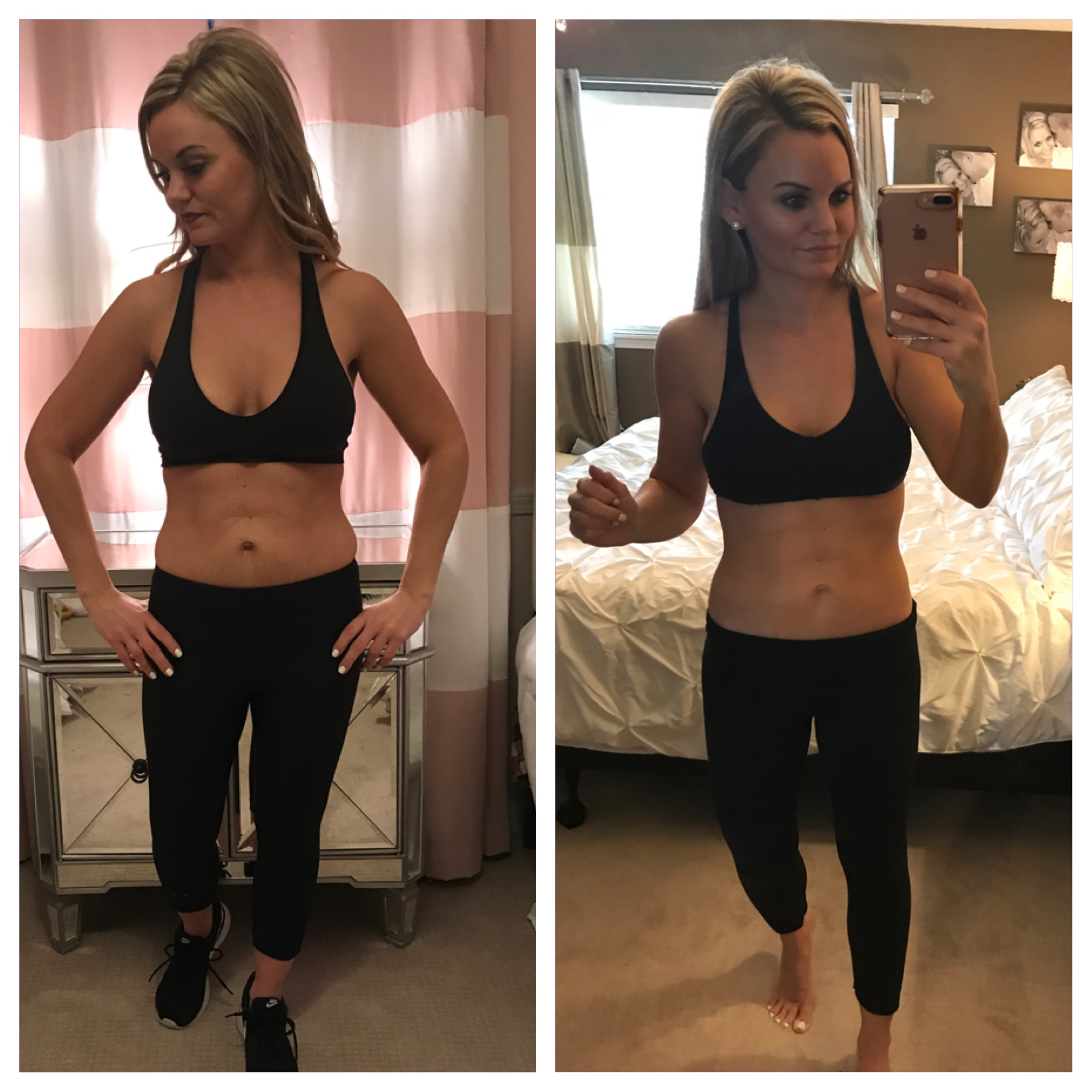 Faster Way to Fat Loss Before and After First Round (6 weeks)