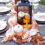 Easy Friendsgiving Tablescape