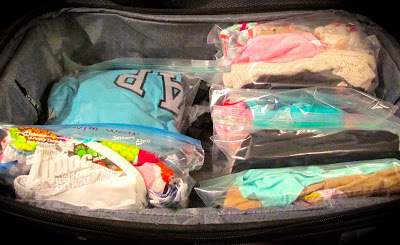 Packing for Vacation with kids