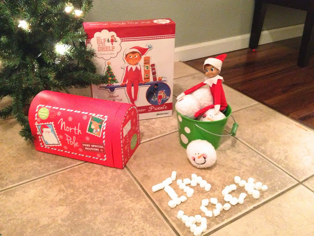 Elf on the Shelf Welcome Back