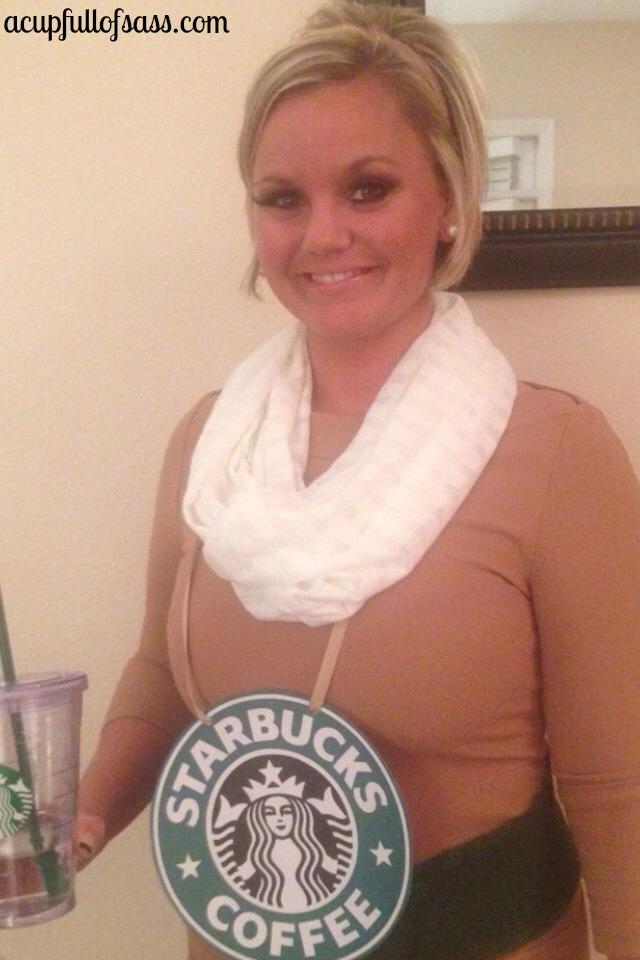 Starbucks Halloween Costume Diy A Cup Full Of Sass