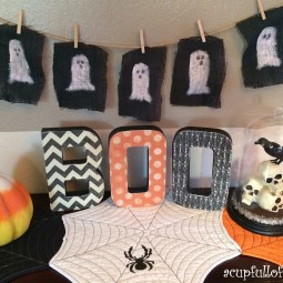 Halloween Craft BOO Letters
