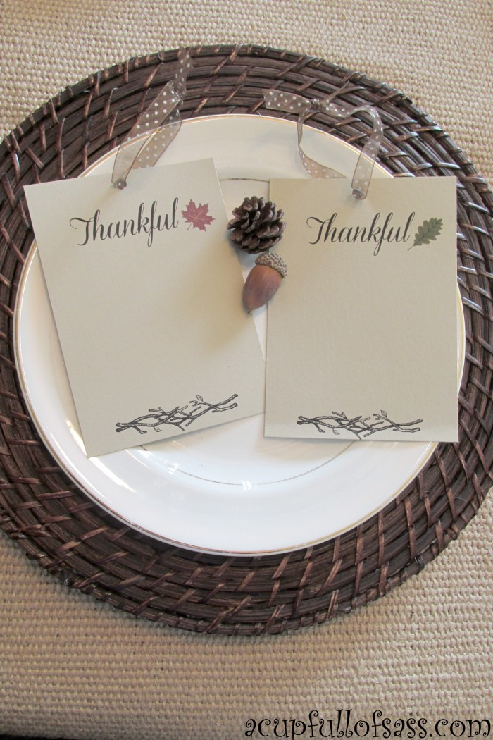 thankful cards two