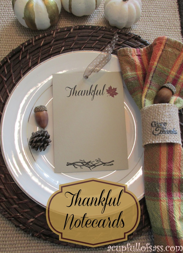 thankful label