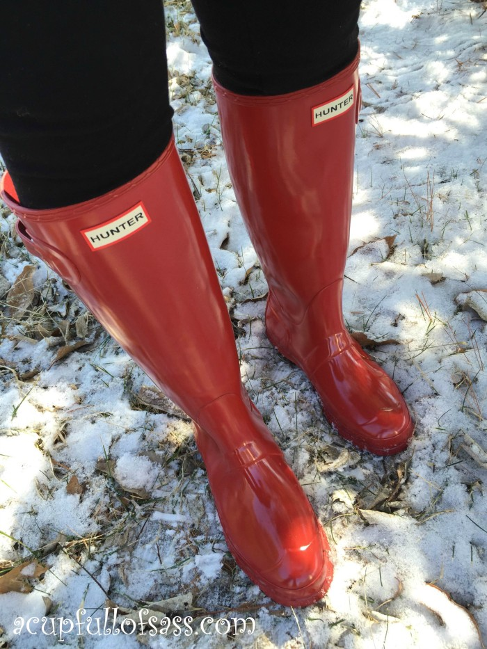 Ired Hunter Boots full