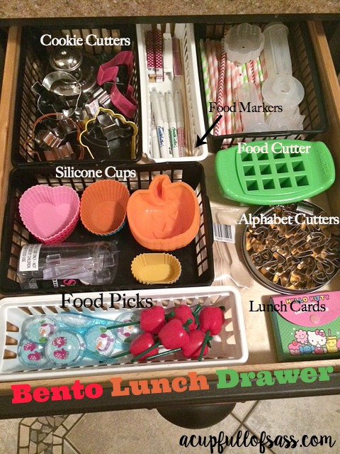 Bento Supplies for kids lunch