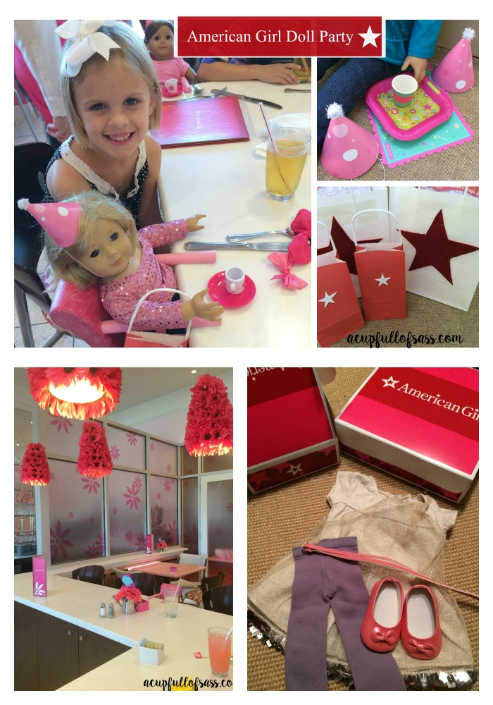 american girl party ideas
