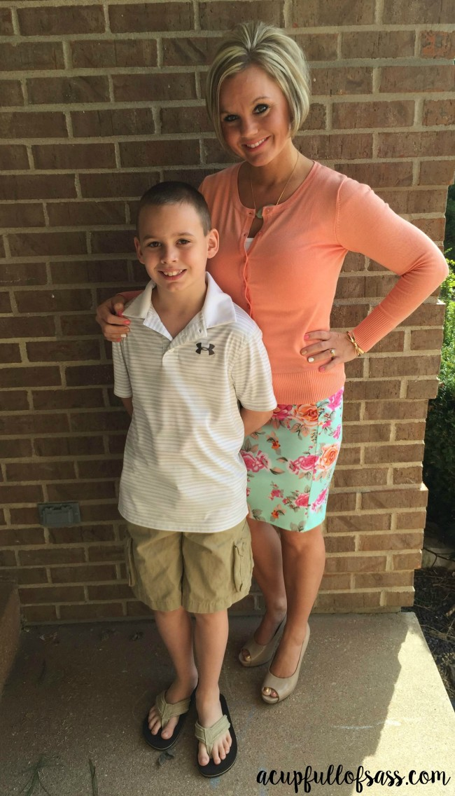 mom and son outfit