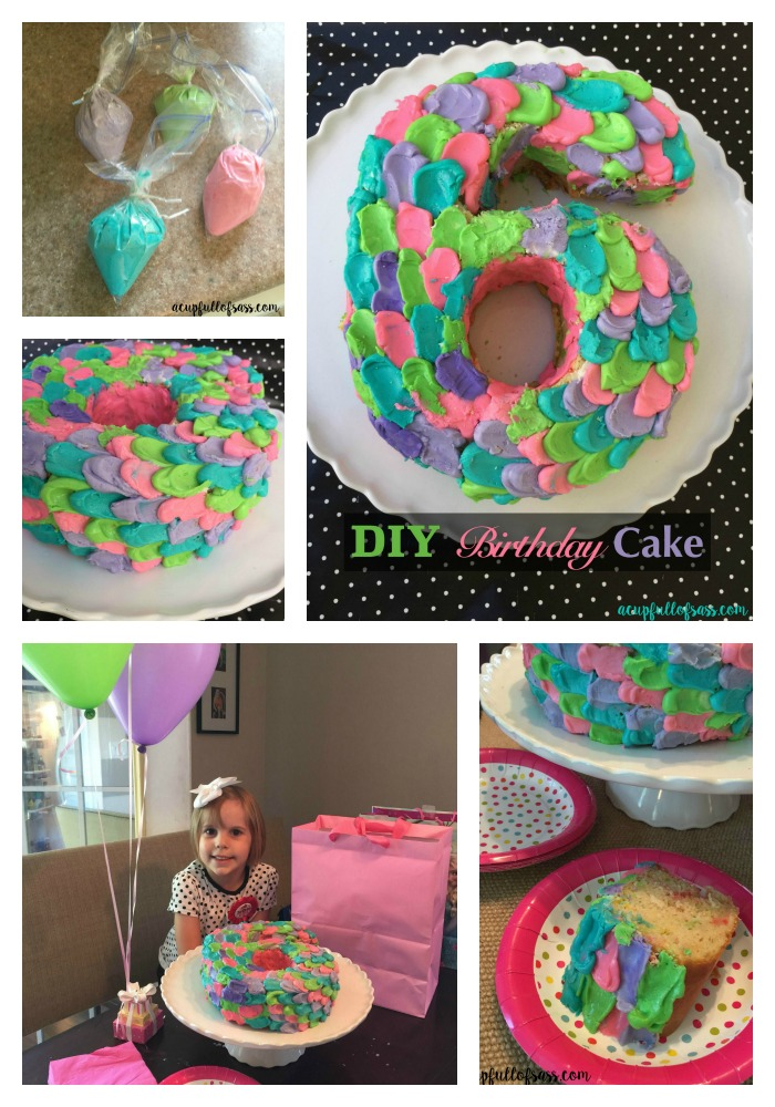 DIY Birthday cake and party