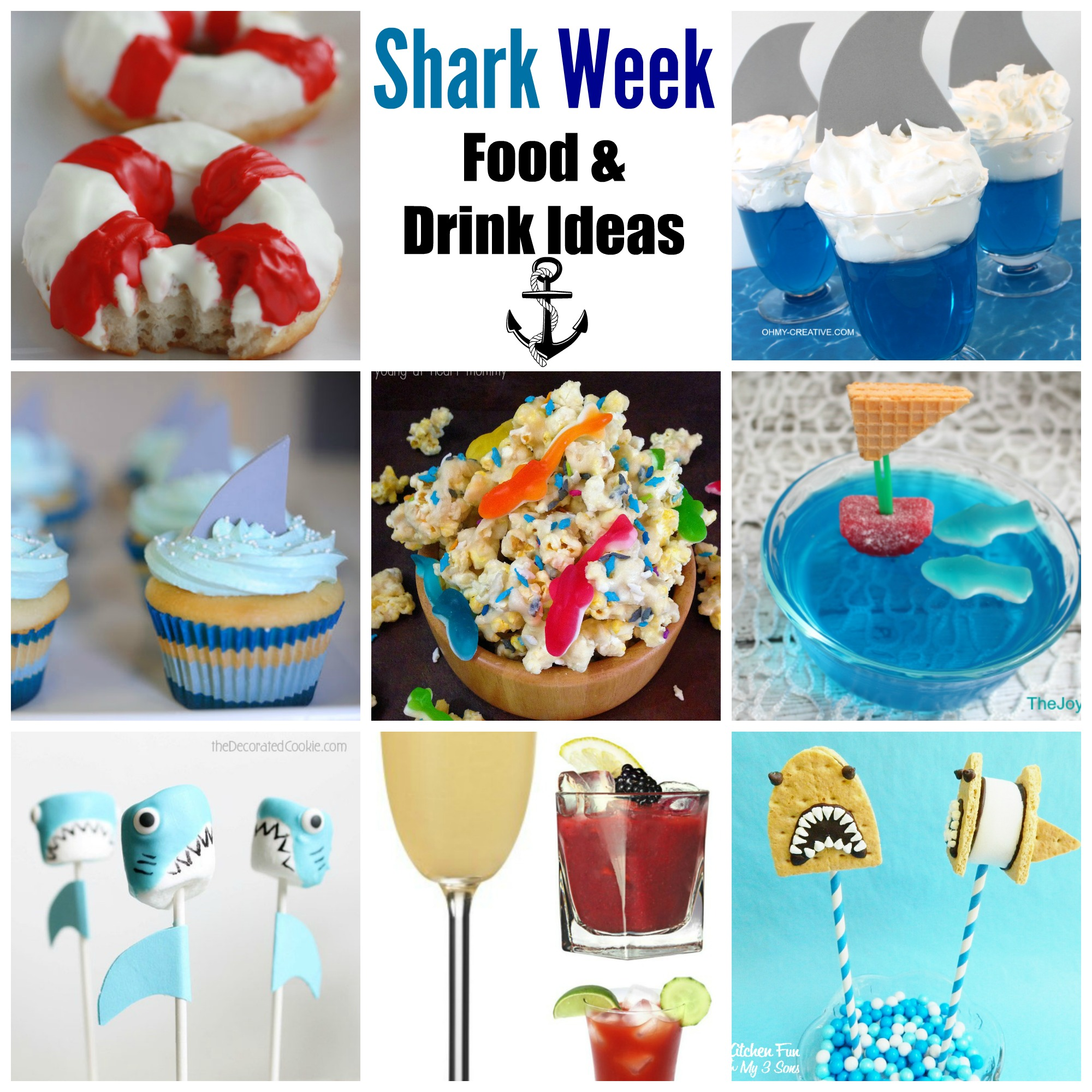 Shark Week Food And Drink Ideas A Cup Full Of Sass