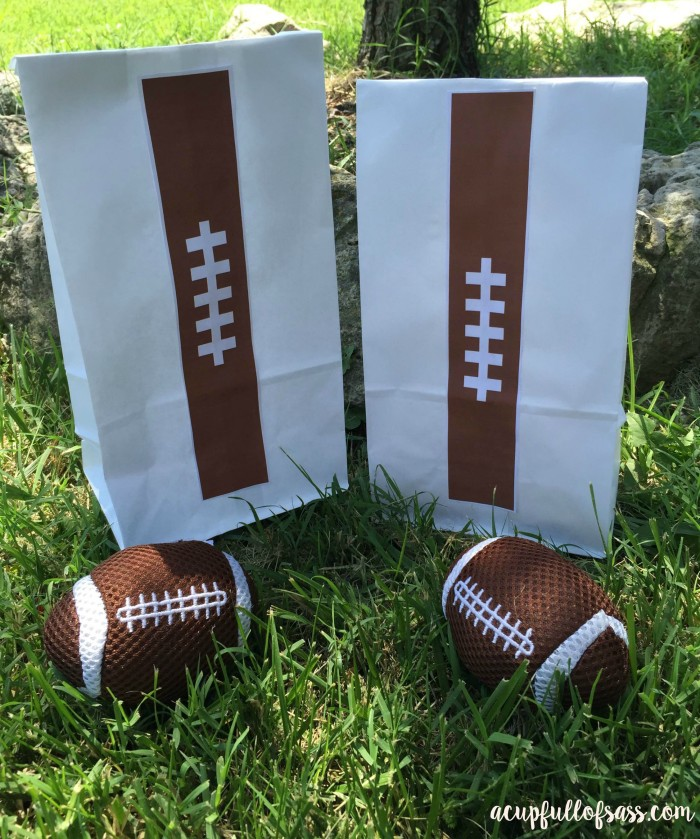 Football Snack Bags