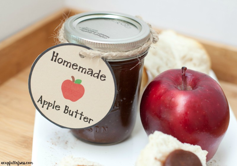 Easy Homemade Apple Butter in the Slow-Cooker