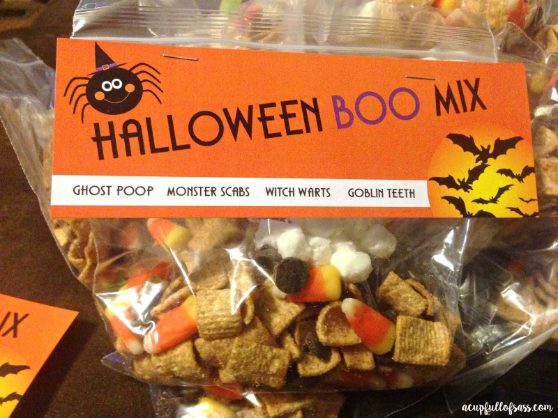 Halloween Treat Bag Printable