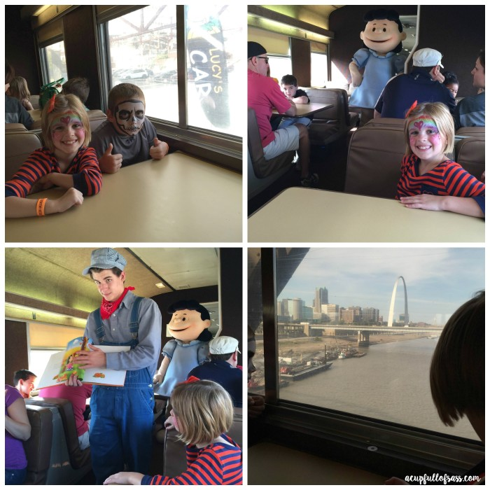 Peanuts Train Ride 2