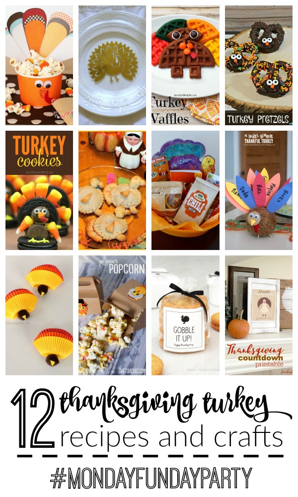 Thanksgiving Turkey Recipes and Crafts