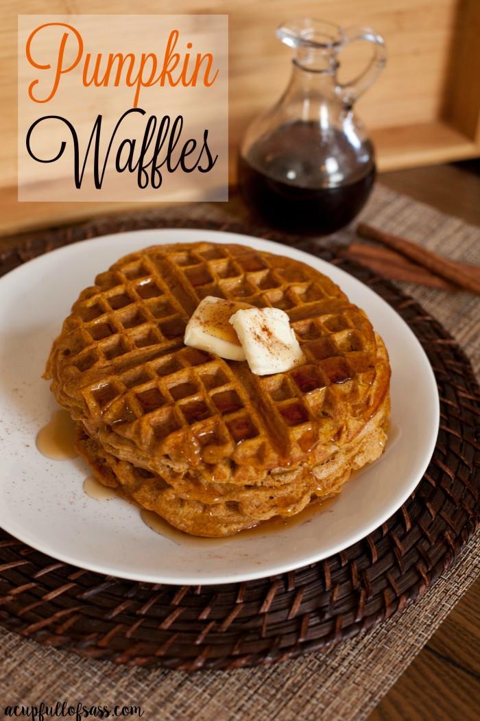 Pumpkin+Waffles