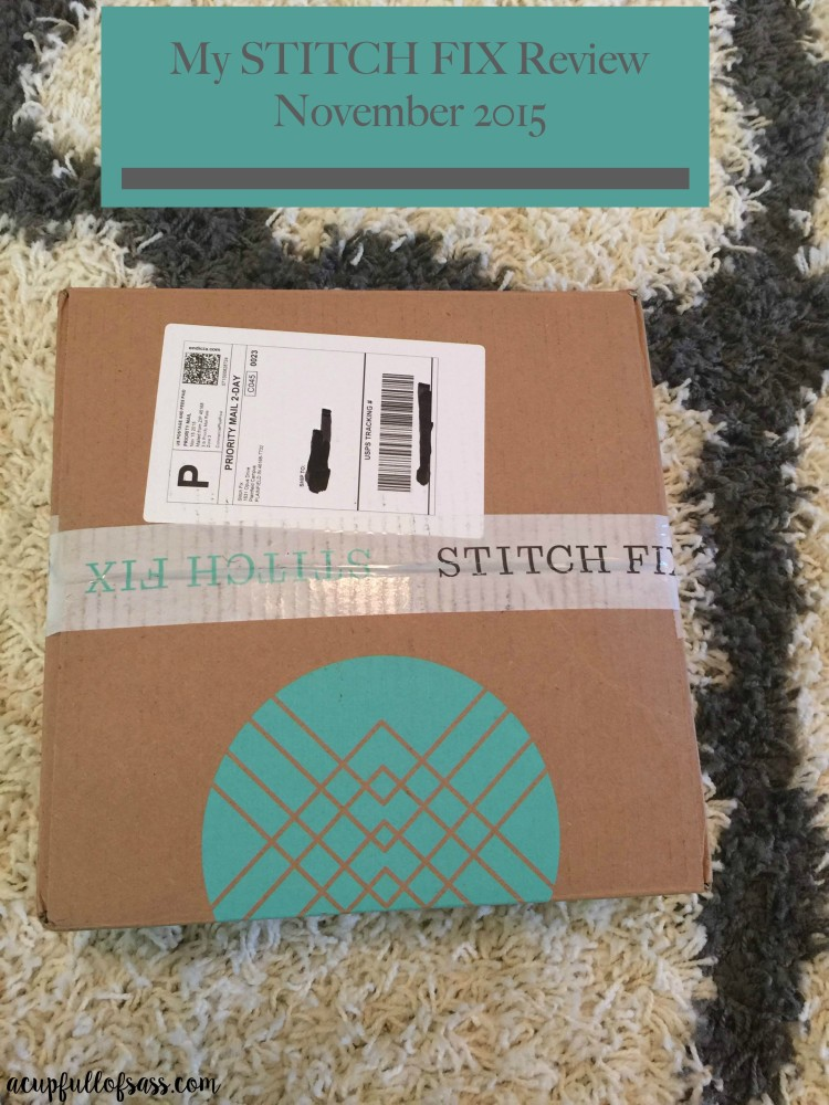 Giving STITCH FIX Another Try